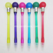 Novelty Plastic Knock Bulb Ball Pen